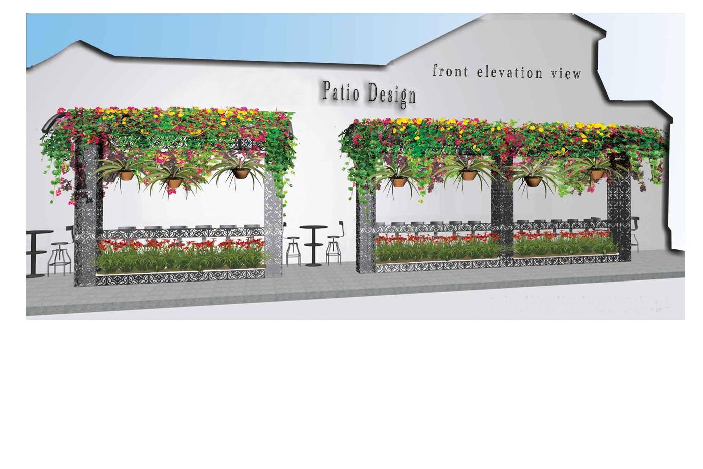 A Custom Patio Parkscape