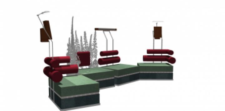 Studio Suite Sofa view 3